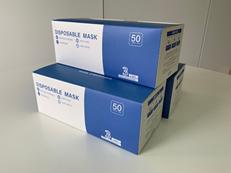 マスクの配布
